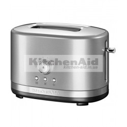 Тостер Kitchenaid для 2 тостов 5KMT2116ЕCU| серебристый