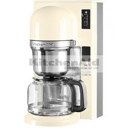 Кофеварка заливного типа Kitchenaid графин 1,18л 5KCM0802EAC| кремовый