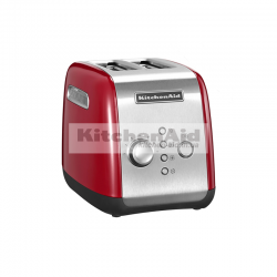 Тостер KitchenAid для 2 тостов 5KMT221EER | Красный