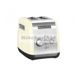 Тостер KitchenAid для 2 тостов 5KMT221EАС | Кремовый