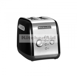 Тостер KitchenAid для 2 тостов 5KMT221EOB | Черный