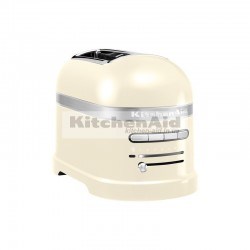 Тостер KitchenAid Artisan для 2 тостов 5KMT2204EAC | Кремовый