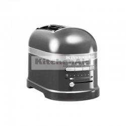 Тостер KitchenAid Artisan для 2 тостов 5KMT2204EMS | Серебряный медальон