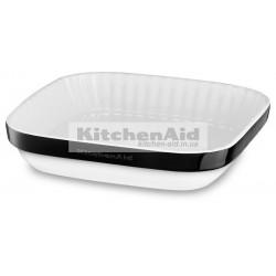 Керамическая форма для выпекания 26х26см KitcheAid KBLR09AGOB | Черный, 26х26см