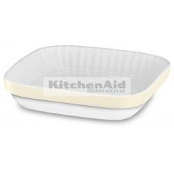 Керамическая форма для выпекания KitcheAid KBLR09AGAC | Кремовый, 26х26см