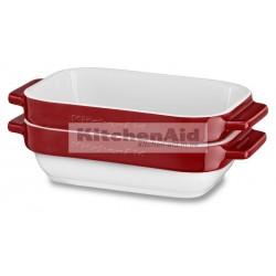 Набор из 2 емкостей для выпекания KitcheAid KBLR02MBER | Красный, 20х11,5х5см