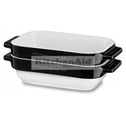 Набор из 2 емкостей для выпекания KitcheAid KBLR02MBOB | Черный, 20х11,5х5см