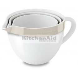 3 чаши для смешивания KitcheAid KBLR03NBAC | Кремовый