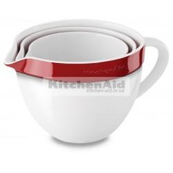 3 чаши для смешивания  KitcheAid KBLR03NBER | Красный