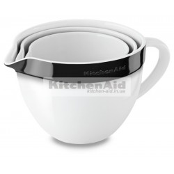 3 чаши для смешивания KitcheAid KBLR03NBOB | Черный