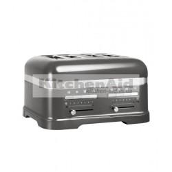 Тостер KitchenAid Artisan для 4 тостов 5KMT4205EMS | Серебрянный медальон